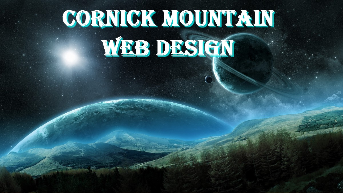 cornickmountain web design logo header